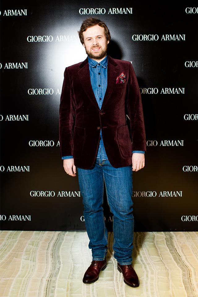 Открытие нового бутика Giorgio Armani в Третьяковском проезде (фото 3)