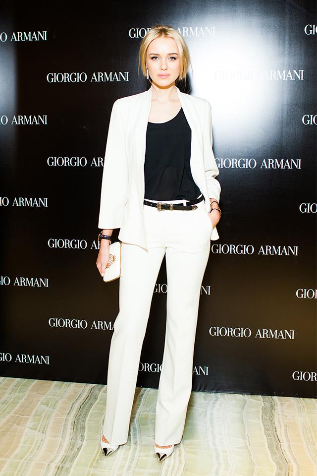 Открытие нового бутика Giorgio Armani в Третьяковском проезде (фото 11)