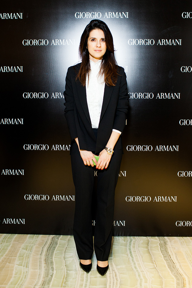 Открытие нового бутика Giorgio Armani в Третьяковском проезде (фото 5)