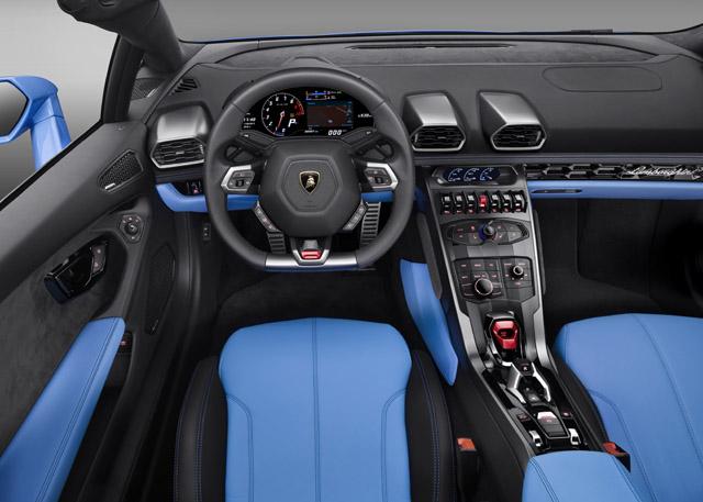 Lamborghini Huracan LP 610-4 Spyder: новая глава в истории атмосферного двигателя (фото 2)