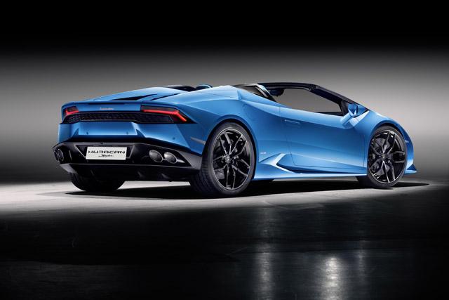 Lamborghini Huracan LP 610-4 Spyder: новая глава в истории атмосферного двигателя (фото 1)