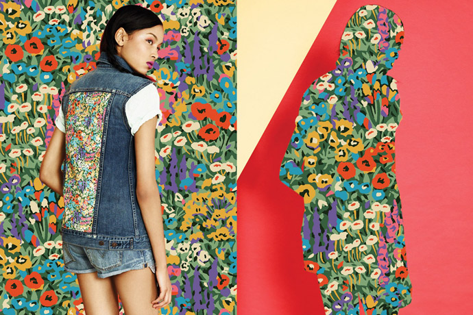 Levi's x Liberty Of London collection
