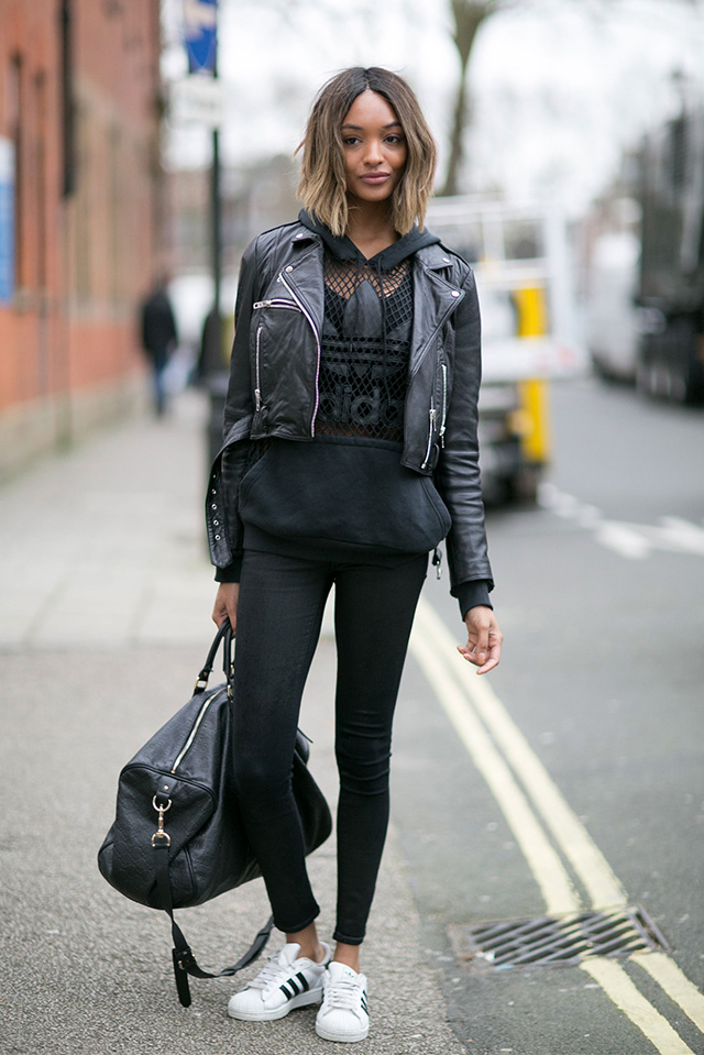 London Fashion Week A / I 2015: street style.  Day Three (3 foto)
