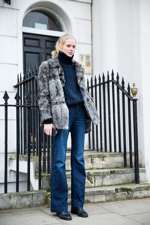 Неделя моды в Лондоне, осень-зима 2016: street style. Часть 1 (фото 10)
