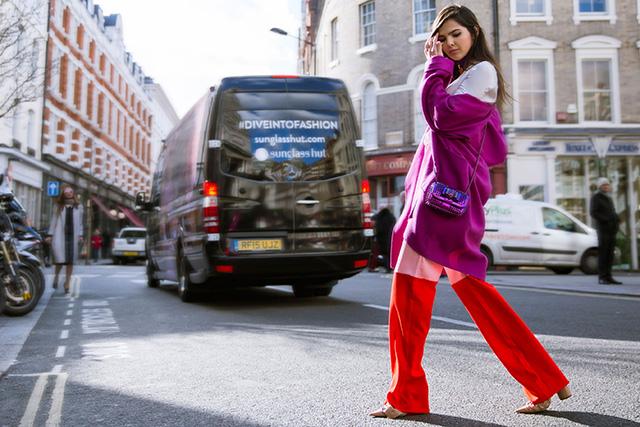 Неделя моды в Лондоне, осень-зима 2016: street style. Часть 1 (фото 11)