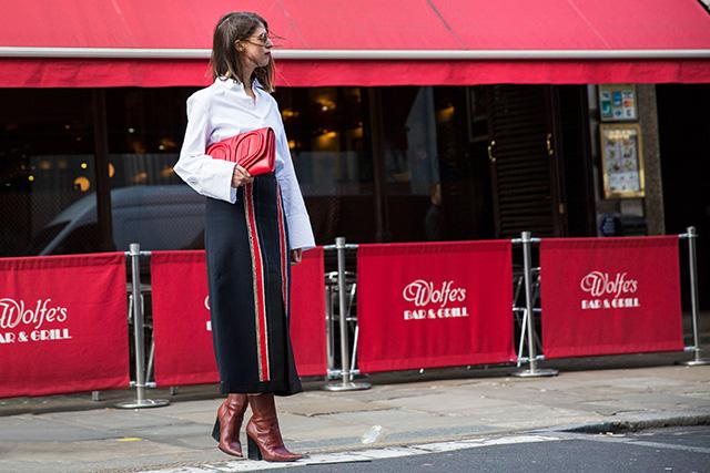 Неделя моды в Лондоне, осень-зима 2016: street style. Часть 1 (фото 3)