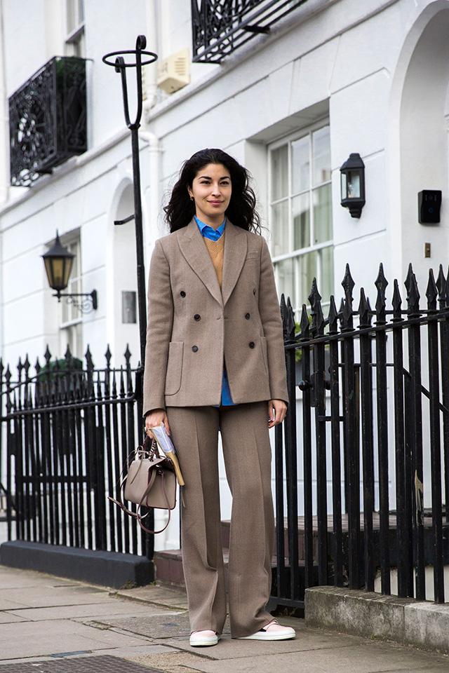 Неделя моды в Лондоне, осень-зима 2016: street style. Часть 1 (фото 4)