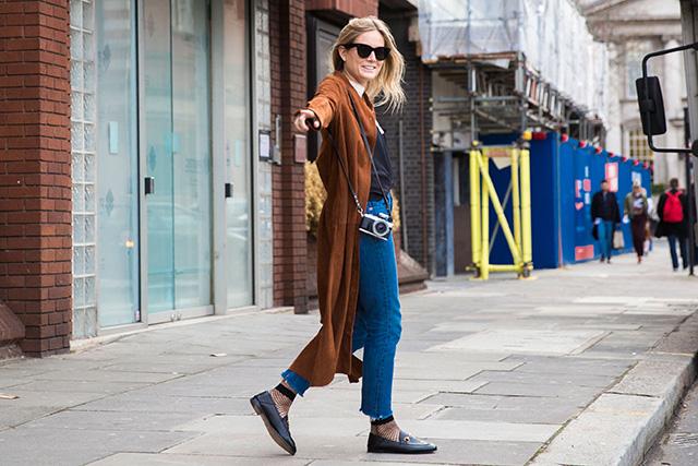 Неделя моды в Лондоне, осень-зима 2016: street style. Часть 1 (фото 5)