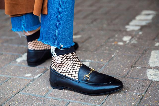 Неделя моды в Лондоне, осень-зима 2016: street style. Часть 1 (фото 15)