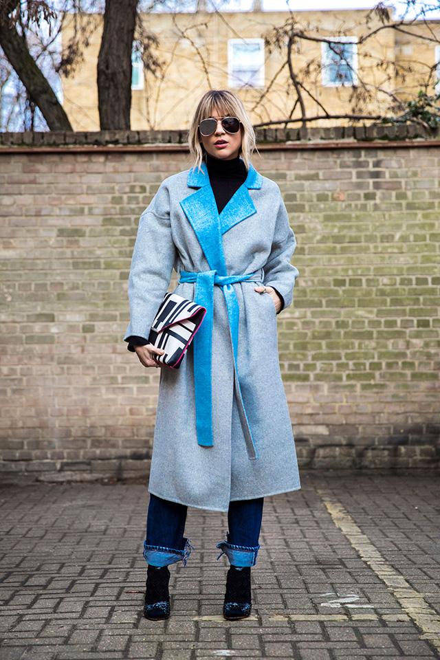 Неделя моды в Лондоне, осень-зима 2016: street style. Часть 1 (фото 12)