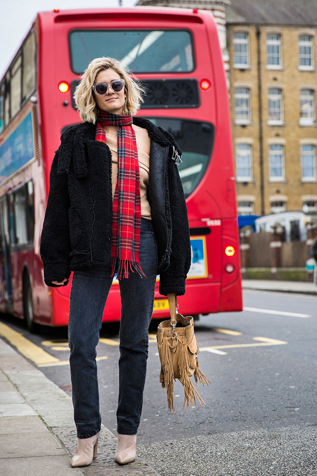 Неделя моды в Лондоне, осень-зима 2016: street style. Часть 1 (фото 8)