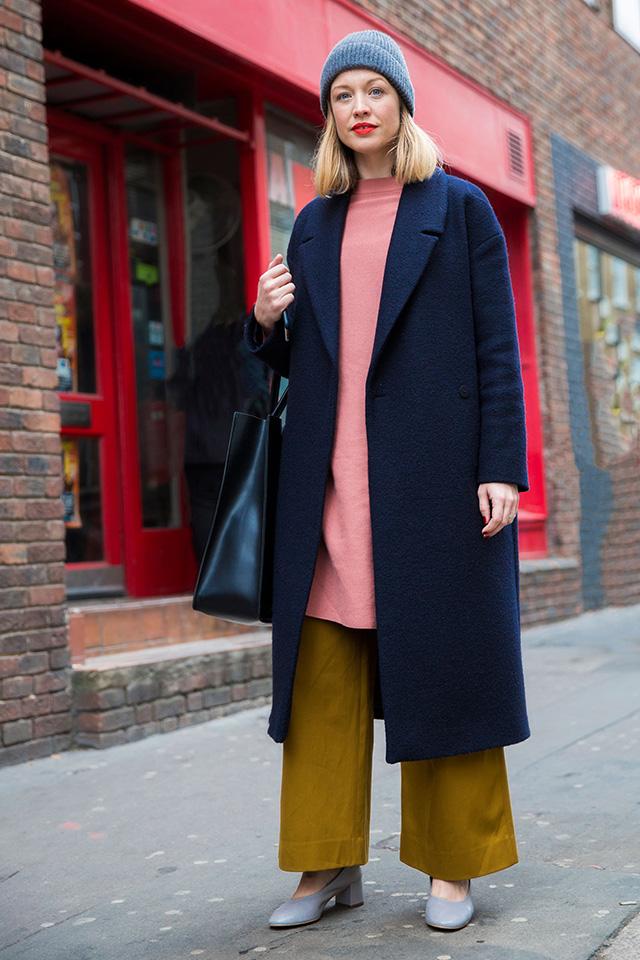 Неделя моды в Лондоне, осень-зима 2016: street style. Часть 1 (фото 14)