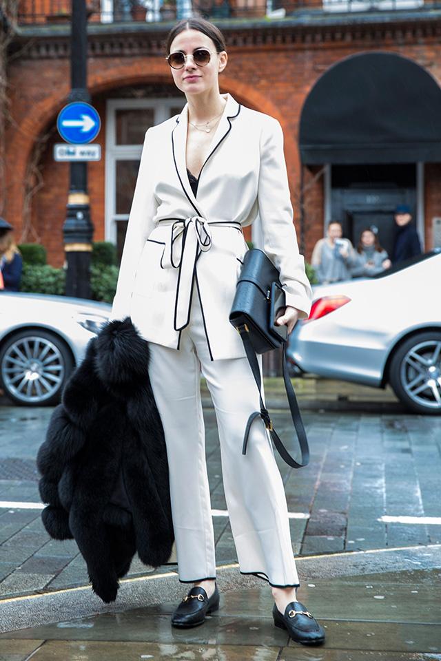 Неделя моды в Лондоне, осень-зима 2016: street style. Часть 1 (фото 18)
