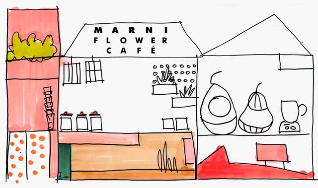 "Marni открыл ""цветочное"" кафе в Японии (фото 1)"