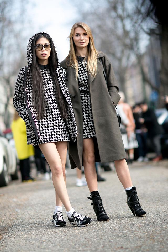Неделя моды в Милане F/W 2015: street style. Часть 4 (фото 23)