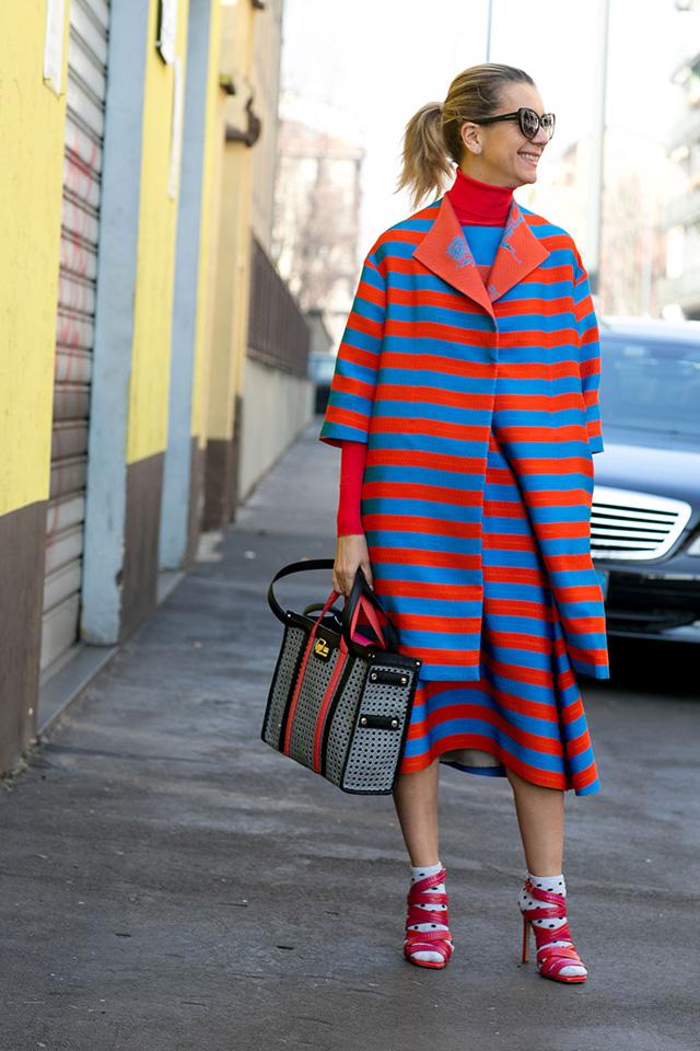 Неделя моды в Милане F/W 2015: street style. Часть 4 (фото 4)