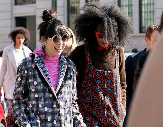 Неделя моды в Милане F/W 2015: street style. Часть 4 (фото 7)