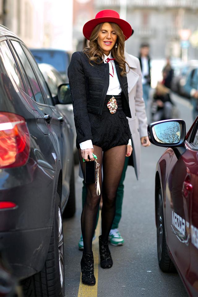 Неделя моды в Милане F/W 2015: street style. Часть 4 (фото 6)