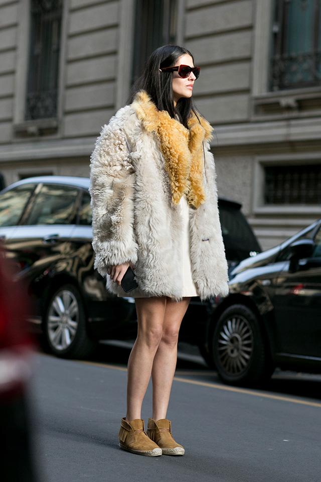 Неделя моды в Милане F/W 2015: street style. Часть 4 (фото 8)