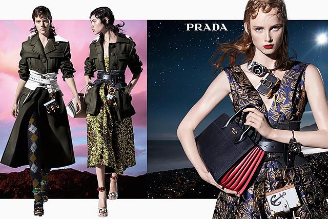 27 моделей снялись в осенней кампании Prada (фото 1)