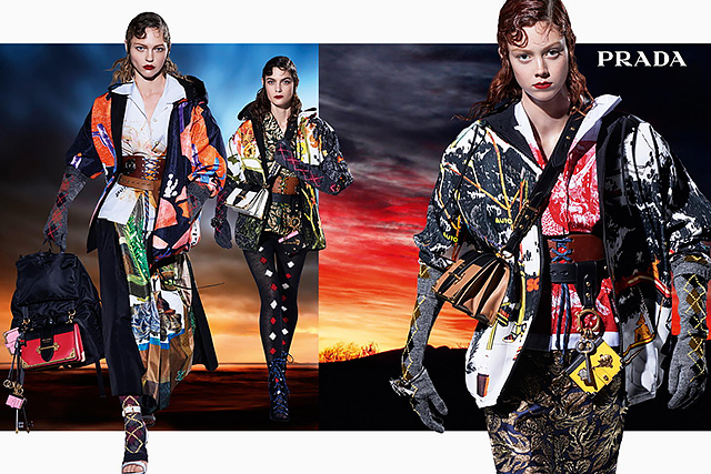 27 моделей снялись в осенней кампании Prada (фото 8)