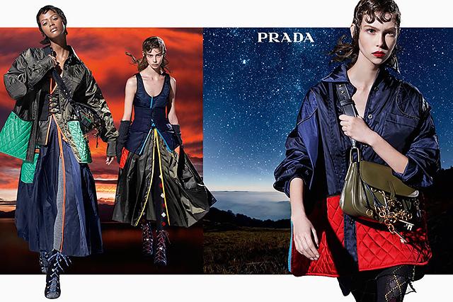 27 моделей снялись в осенней кампании Prada (фото 5)