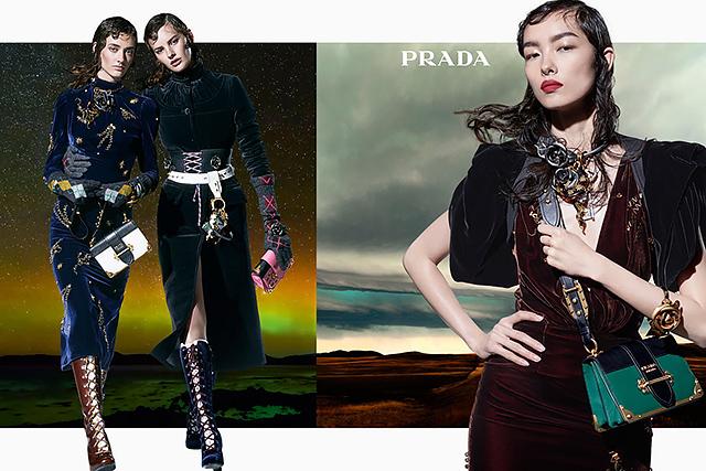 27 моделей снялись в осенней кампании Prada (фото 7)