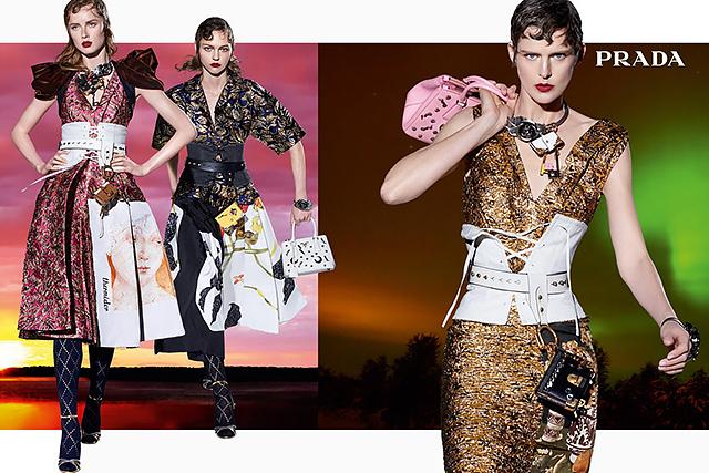 27 моделей снялись в осенней кампании Prada (фото 4)