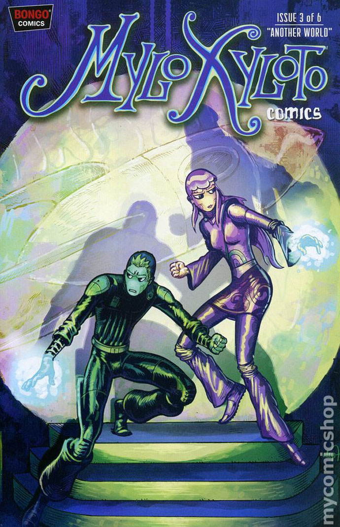 Mylo Xyloto issue 3 cover