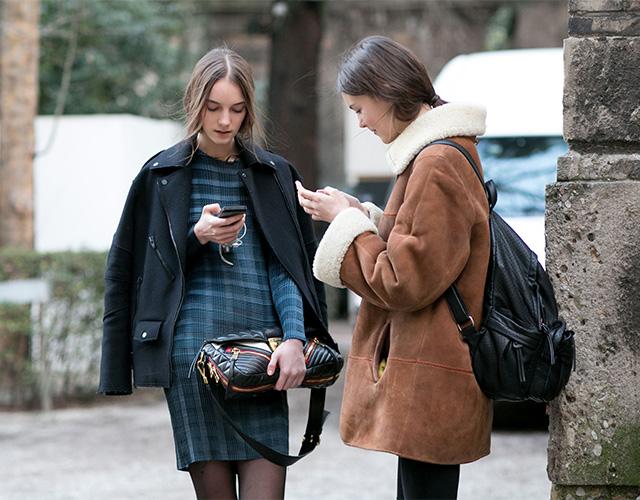 Неделя моды в Милане F/W 2015: street style. Часть 1 (фото 20)