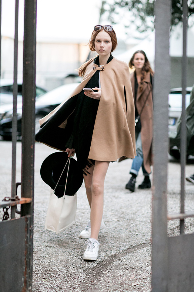 Неделя моды в Милане F/W 2015: street style. Часть 1 (фото 18)