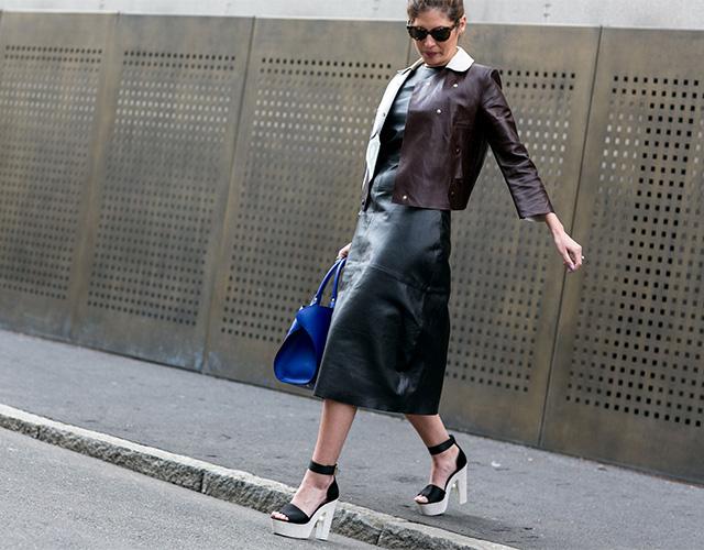 Неделя моды в Милане F/W 2015: street style. Часть 4 (фото 20)