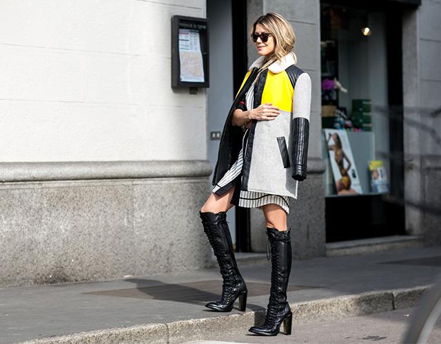 Неделя моды в Милане F/W 2015: street style. Часть 4 (фото 18)