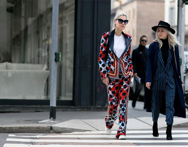 Неделя моды в Милане F/W 2015: street style. Часть 4 (фото 22)