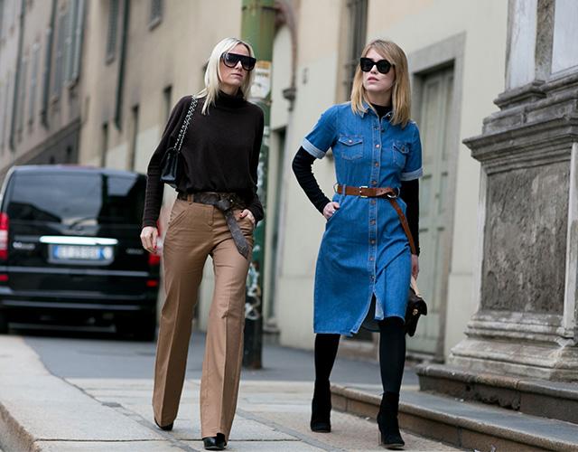 Неделя моды в Милане F/W 2015: street style. Часть 4 (фото 9)