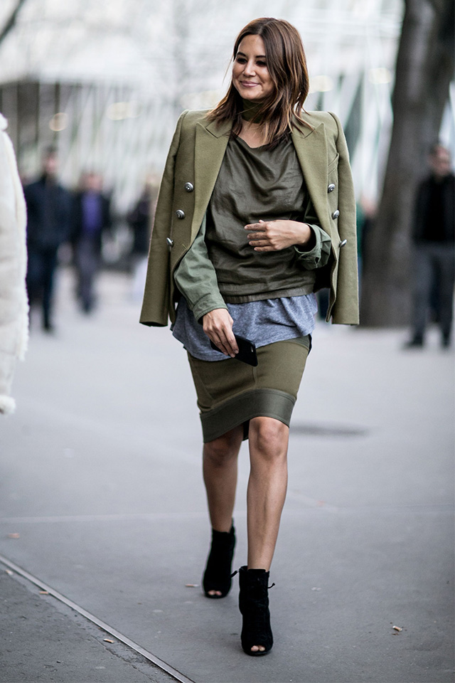 Неделя моды в Милане F/W 2015: street style. Часть 4 (фото 17)