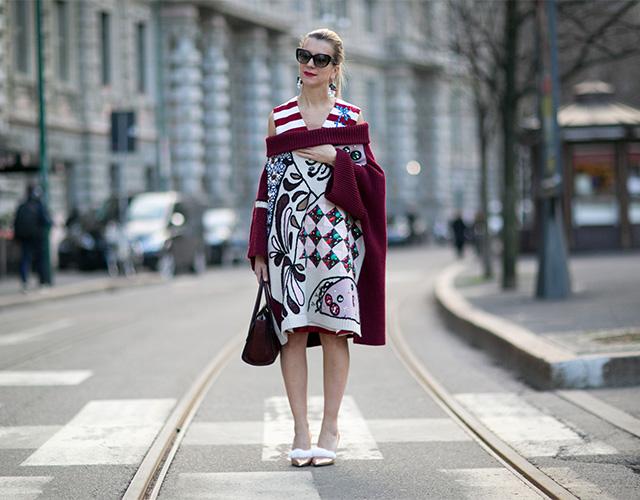 Неделя моды в Милане F/W 2015: street style. Часть 4 (фото 15)