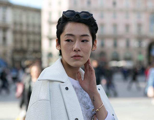 Неделя моды в Милане F/W 2015: street style. Часть 1 (фото 6)
