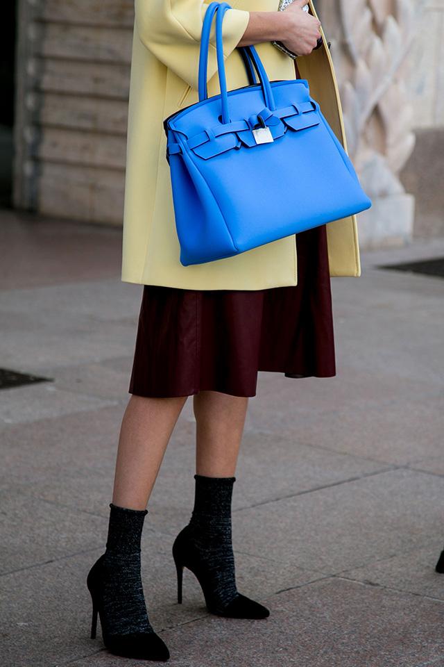 Неделя моды в Милане F/W 2015: street style. Часть 1 (фото 7)