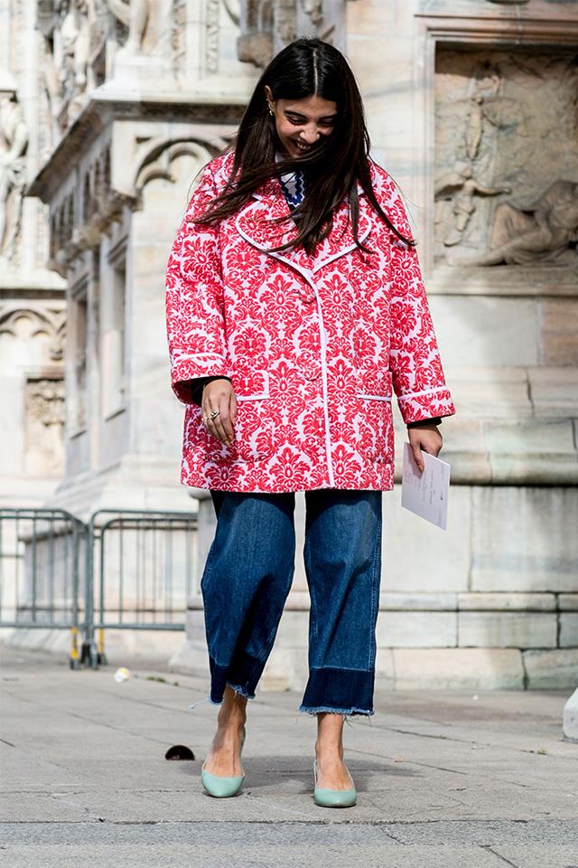 Неделя моды в Милане F/W 2015: street style. Часть 1 (фото 27)