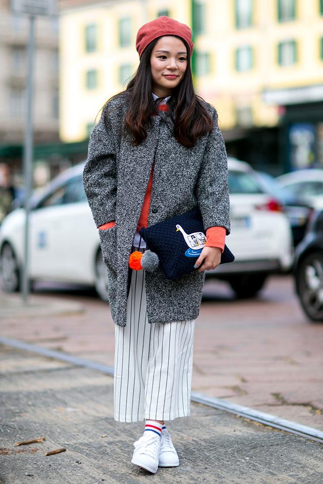 Неделя моды в Милане F/W 2015: street style. Часть 1 (фото 12)