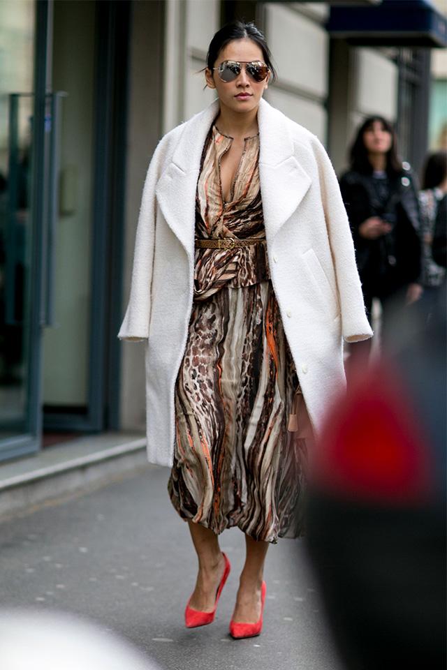 Неделя моды в Милане F/W 2015: street style. Часть 1 (фото 10)