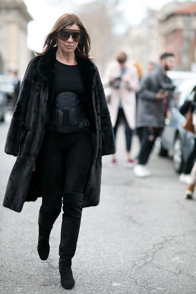 Неделя моды в Милане F/W 2015: street style. Часть 1 (фото 3)