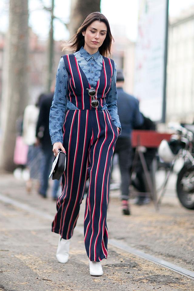 Неделя моды в Милане F/W 2015: street style. Часть 1 (фото 16)