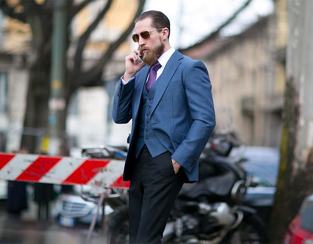 Неделя моды в Милане F/W 2015: street style. Часть 1 (фото 15)