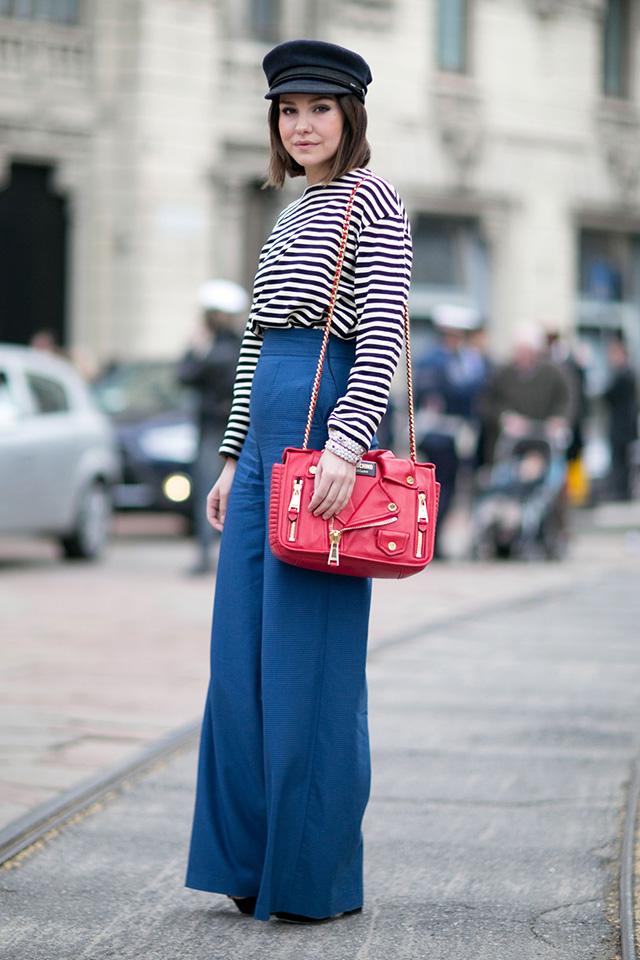 Неделя моды в Милане F/W 2015: street style. Часть 1 (фото 25)