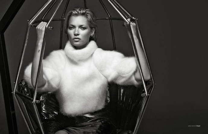 Kate Moss for Zoo Magazine Fall 2013