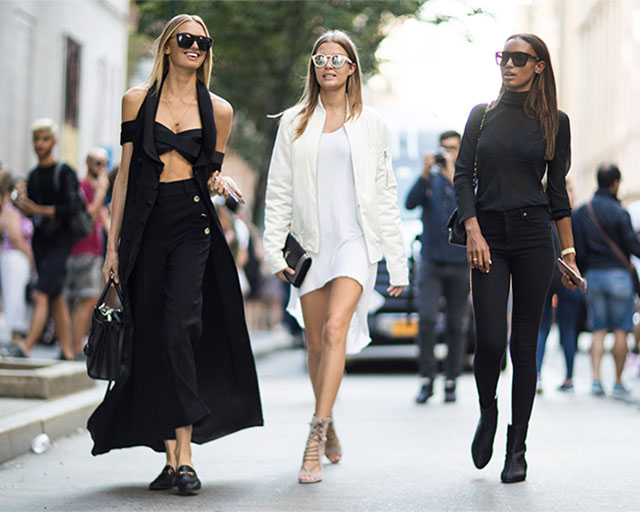 Что носят на Неделе моды в Нью-Йорке: 4 часть (фото 29)