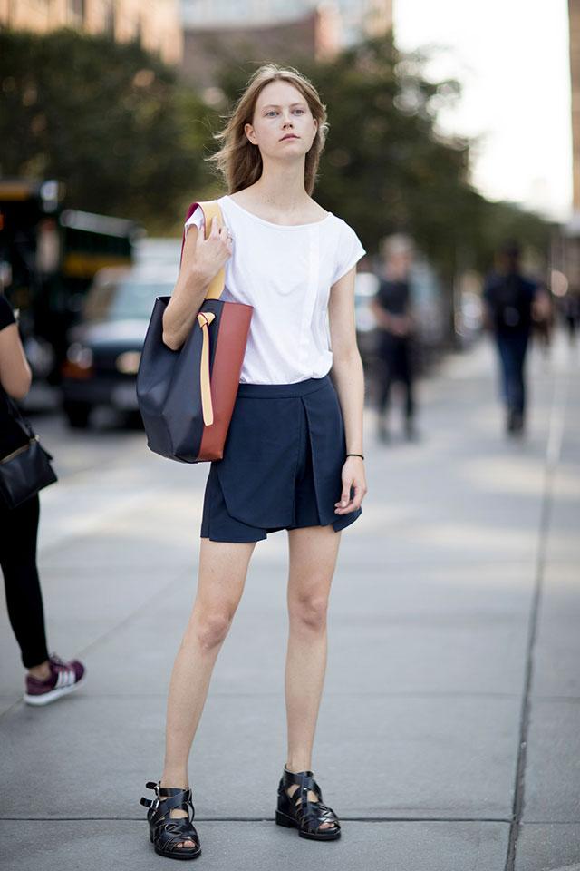 Что носят на Неделе моды в Нью-Йорке: 1 часть (фото 16)