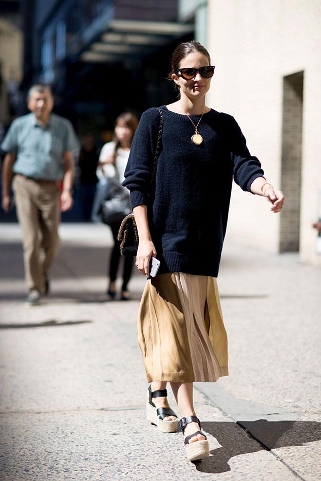 Что носят на Неделе моды в Нью-Йорке: 7 часть (фото 11)